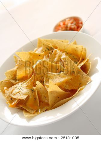Yummy, mouth watering Mexican Nachos