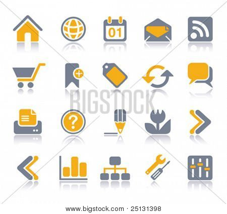 VECTOR Internet / Web Icon set | Serie Veeta