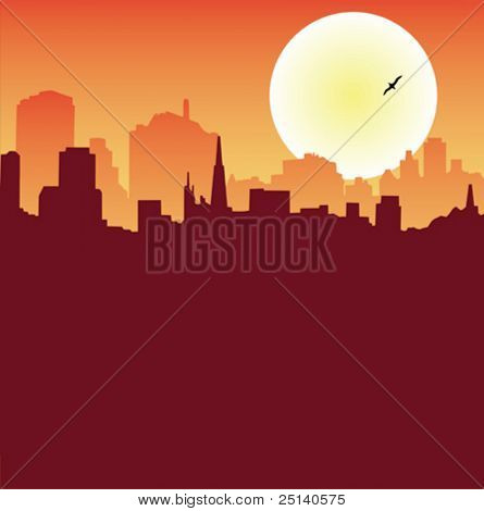 Urban Scene Series - Skyline