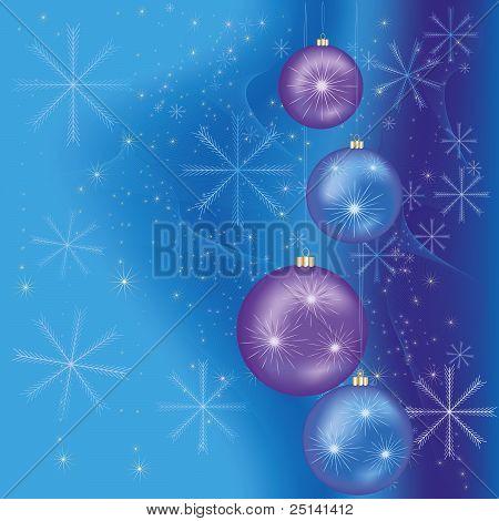 Celebratory Christmas And  New Year Background