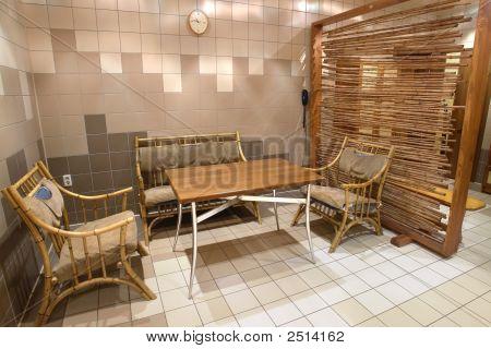 In Sauna Room