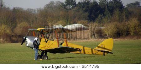 Tiger Moth Bi-Plane