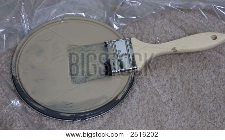 A Lonely Paint Brush