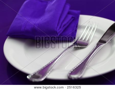 Colorful Table Setting