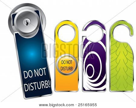 Don't Disturb Labels