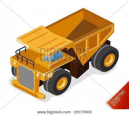 Mining Truck Vector