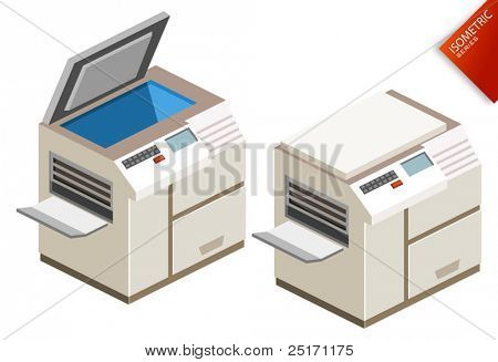 Photocopy Isometric