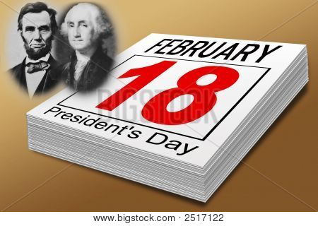 President'S  Day February 18Th
