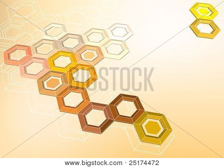 Colorful geometrical abstract background