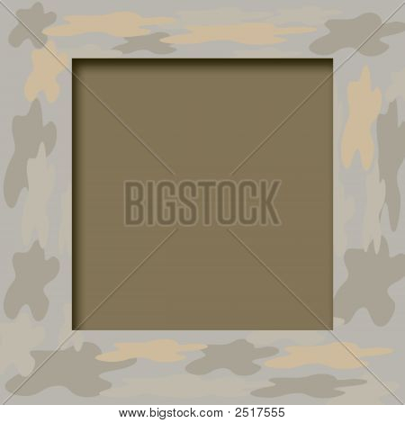 Camouflage Frame
