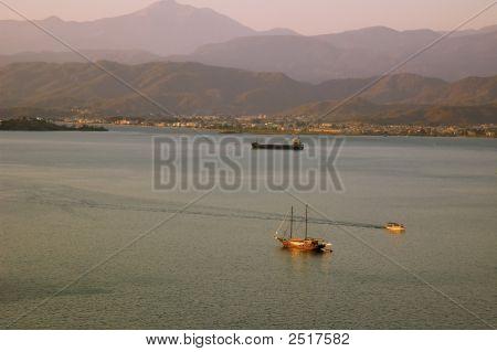 Evening View On Marina