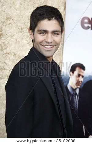 LOS ANGELES - JUNE 16: Adrian Grenier at the premiere of 'Entourage' held at Paramount Studios on June 16, 2010 in Los Angeles, California