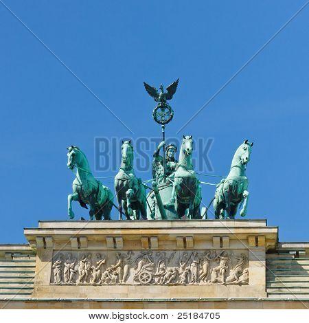 Quadriga On The Brandenburger Tor (brandenburg Gate), Berlin
