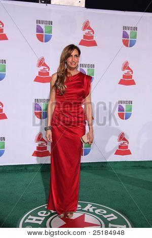 LOS ANGELES - NOV 10:  Lili Estefan arrives at the 12th Annual Latin GRAMMY Awards at Mandalay Bay on November 10, 2011 in Las Vegas, NV