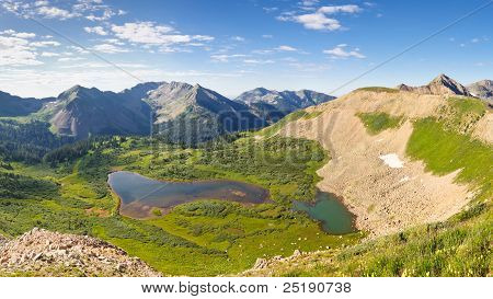 San Juan Mountains Scenery