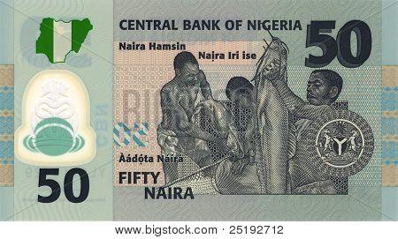 50 Naira Banknote