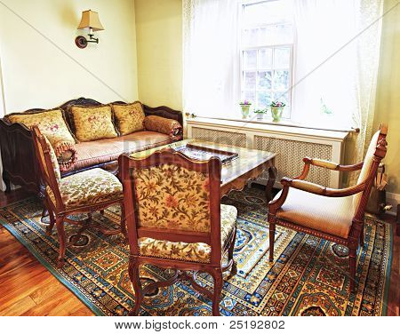 Interior With Antique Furniture