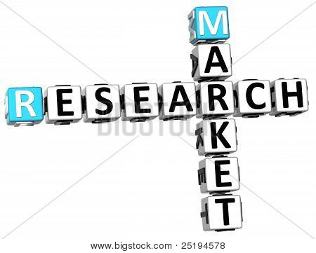 3D Research Market Crossword