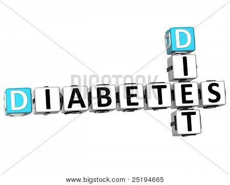 3D Diabetes Diet Crossword