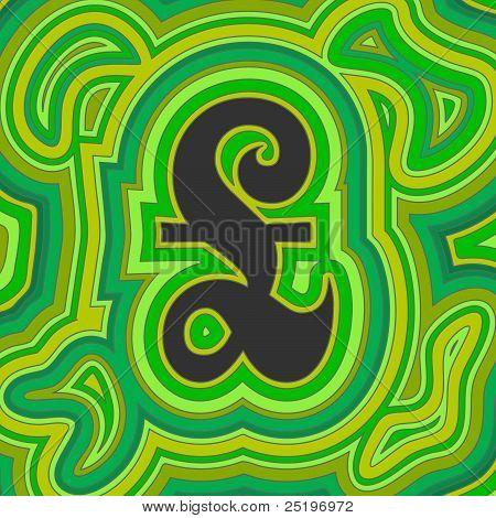 Groovy Money - Green Sterling