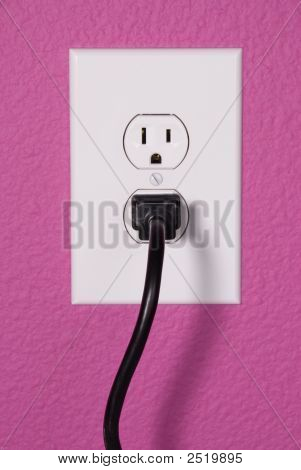 A 110 Volt Wall Outlet