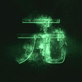Rmb Symbol Of Chinese Currency Yuan Symbol. Monetary Currency Symbol. Green Symbol poster