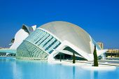 VALENCIA, SPAIN - MARCH 17: Hemisferic in The City of Arts and Sciences of Valencia on March 17, 201