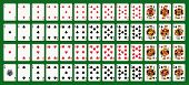 stock photo of spade  - Full deck  - JPG