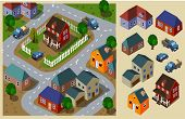 picture of isometric  - Neighborhood Isometric - JPG