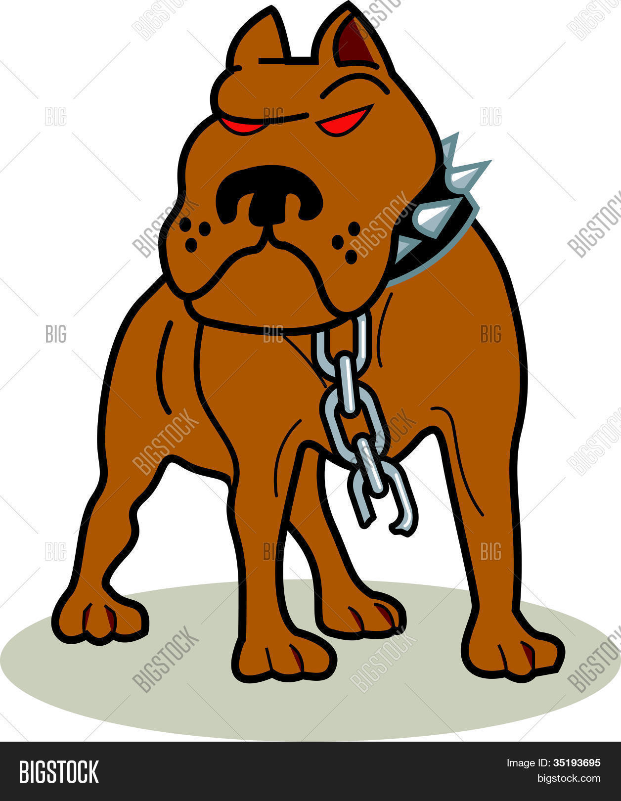 Pit Bull Clipart Stock Vector & Stock Photos | Bigstock