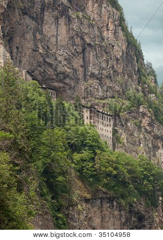 Sumela Monastery in Trabzon Turkey