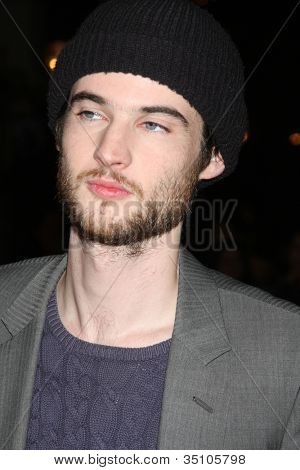 "LOS ANGELES - FEB 1:  Tom Sturridge arrives at the ""Waiting For Forever"" LA Premiere at Pacific Theaters at The Grove on February 1, 2011 in Los Angeles, CA"