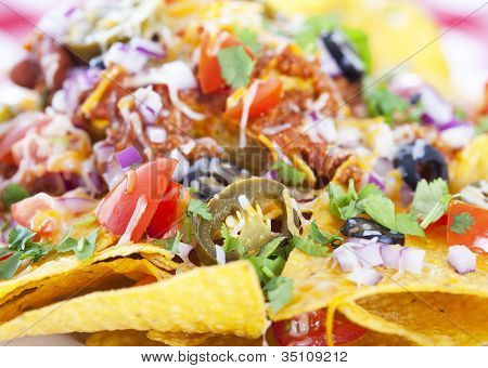 Nachos Background