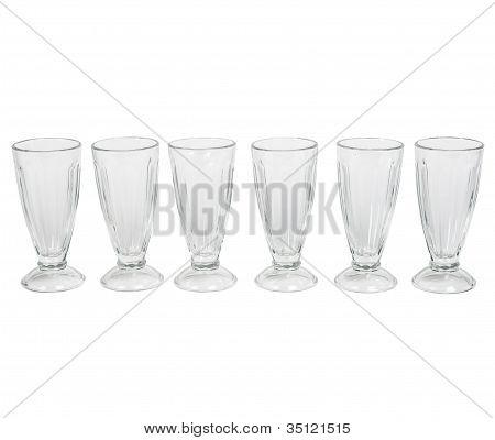 Empty Glass Ice Cream