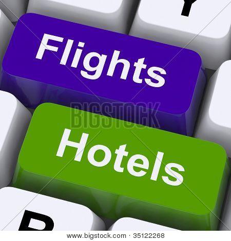 Vuelos y llaves de Hotel para vacaciones en el extranjero