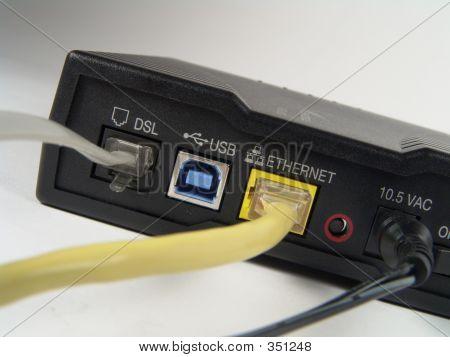 Broadband Modem Back #2