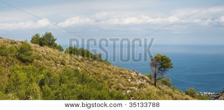 Panoramic Landscape On Majorca