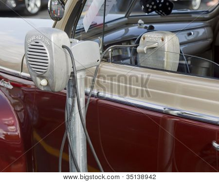 1941 Plymouth Classic Car Close Up