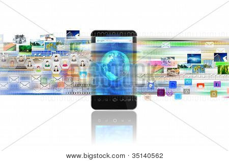 Internet and Multimedia on Smart phone