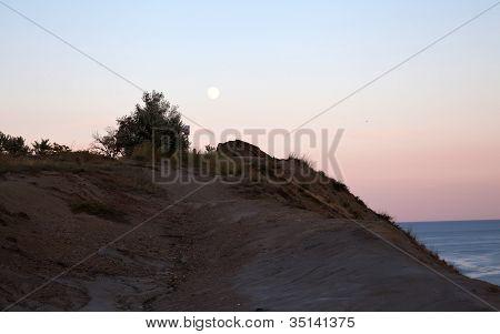 Sunset On Mountain Kara Dag