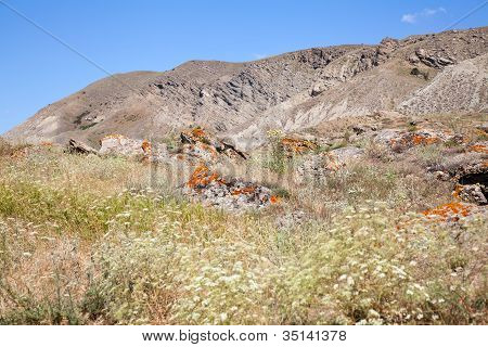 Kara Dag Mountain Top
