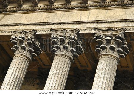 Stone Pilasters
