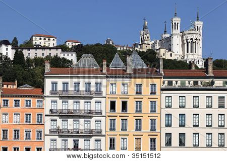 Fourviere Basilica And Building