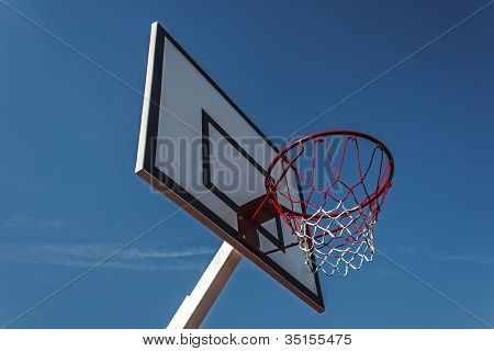 Panel Basketball Hoop