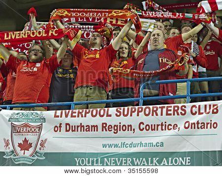 Torcedores do Liverpool FC