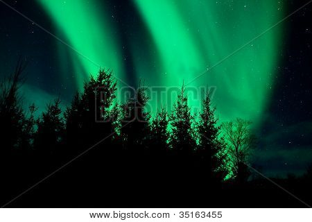 Northern lights (Aurora boreal)