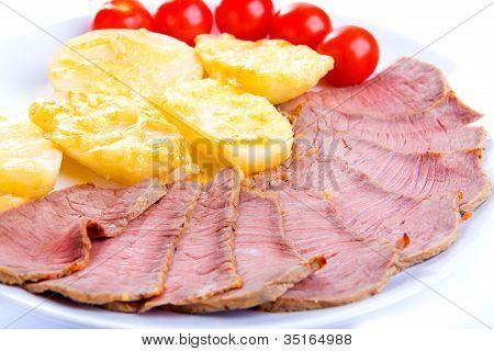 Roastbeef With Potatoes