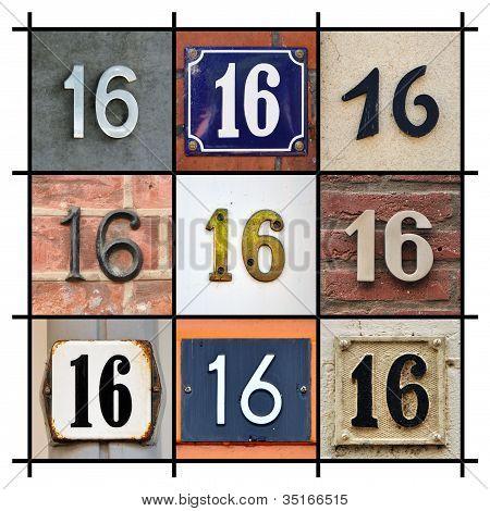 Numbers Sixteen