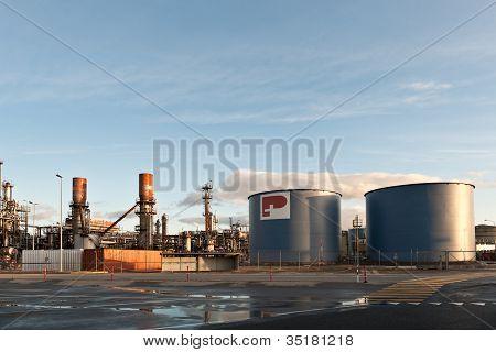 Swiss based Petroplus Refinery in Cressier, Switzerland