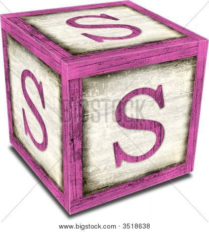 Alpha Block S Pink
